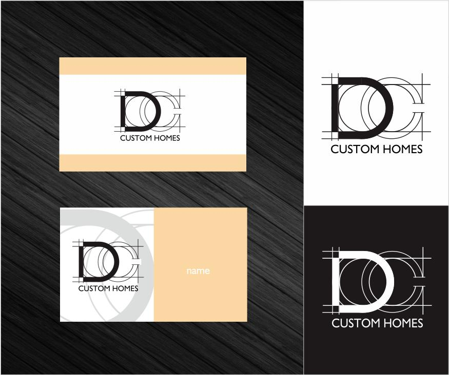 Logo Design by ronny - Entry No. 128 in the Logo Design Contest Creative Logo Design for DC Custom Homes.