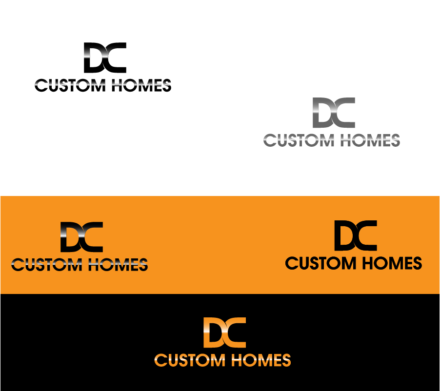 Logo Design by Private User - Entry No. 132 in the Logo Design Contest Creative Logo Design for DC Custom Homes.