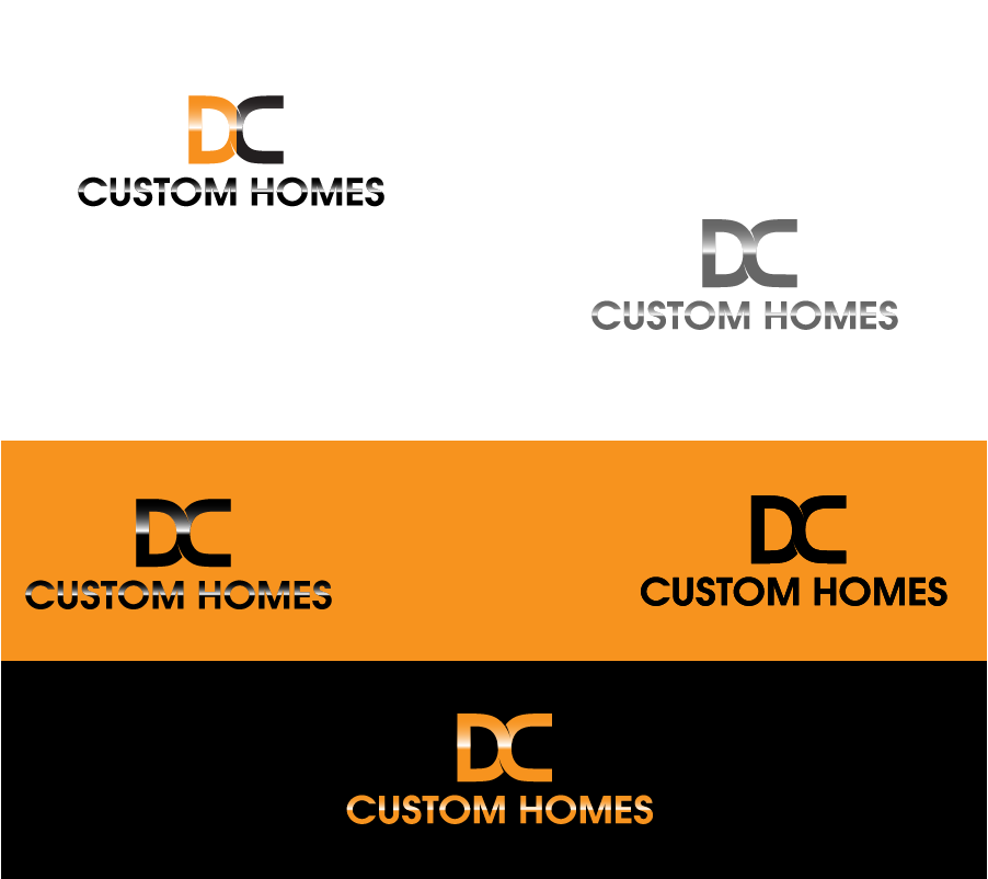 Logo Design by Private User - Entry No. 133 in the Logo Design Contest Creative Logo Design for DC Custom Homes.