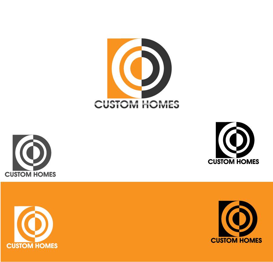 Logo Design by Private User - Entry No. 135 in the Logo Design Contest Creative Logo Design for DC Custom Homes.