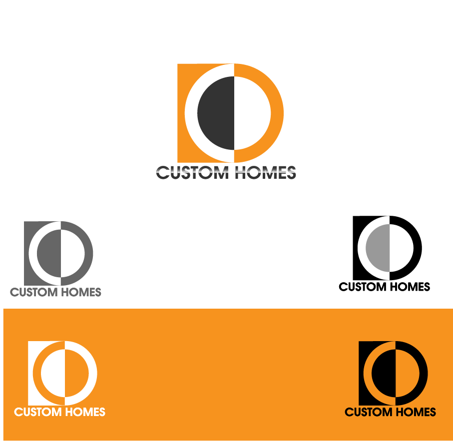 Logo Design by Private User - Entry No. 136 in the Logo Design Contest Creative Logo Design for DC Custom Homes.