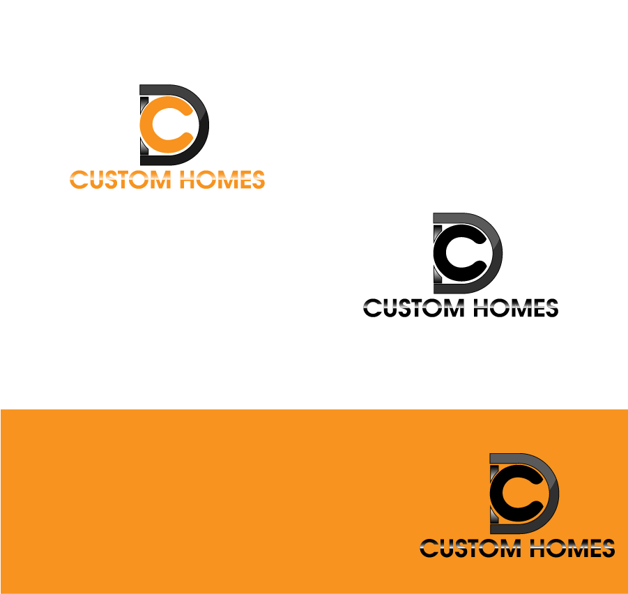 Logo Design by Private User - Entry No. 137 in the Logo Design Contest Creative Logo Design for DC Custom Homes.