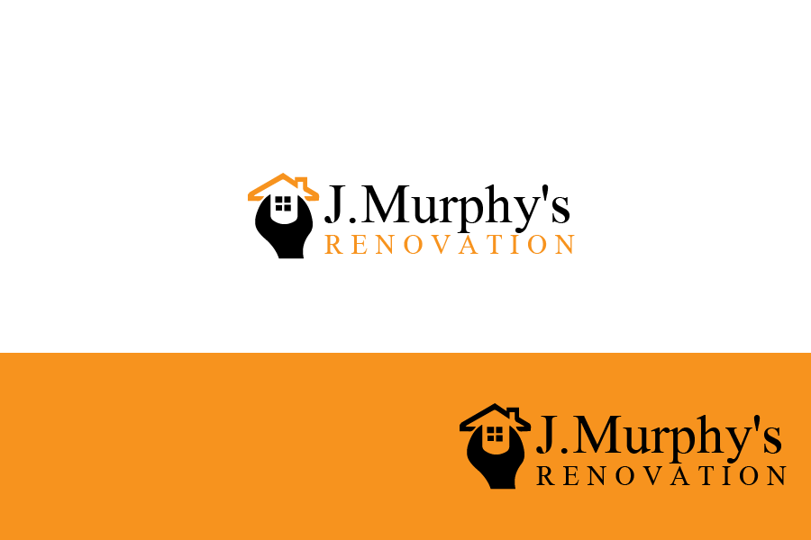 Logo Design by brands_in - Entry No. 1 in the Logo Design Contest J. Murphy's Renovations Logo Design.