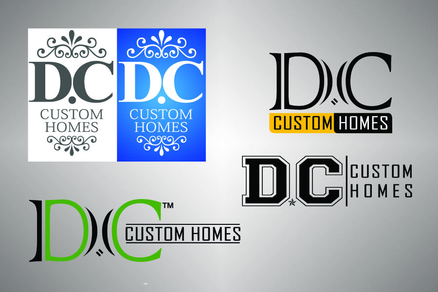 Logo Design by Private User - Entry No. 140 in the Logo Design Contest Creative Logo Design for DC Custom Homes.