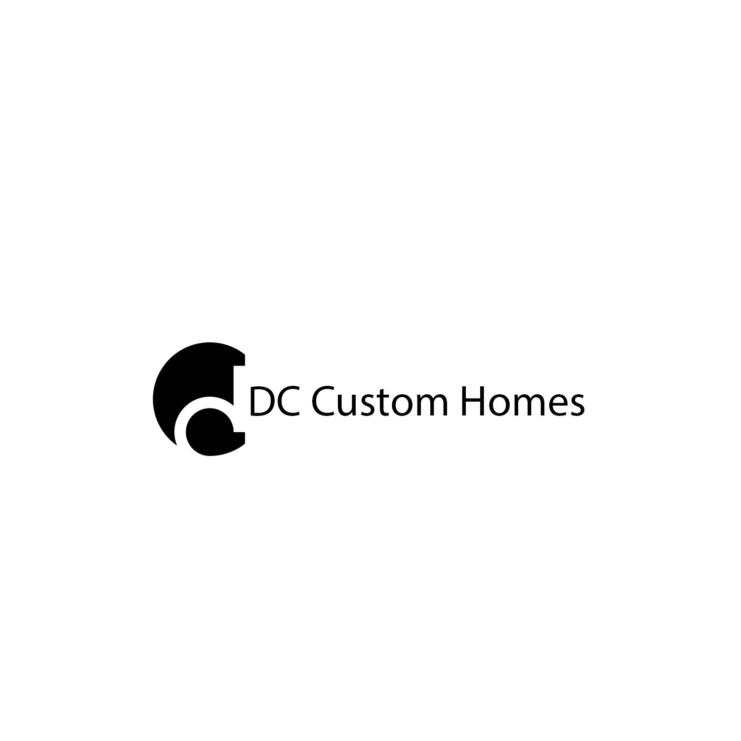 Logo Design by Private User - Entry No. 143 in the Logo Design Contest Creative Logo Design for DC Custom Homes.