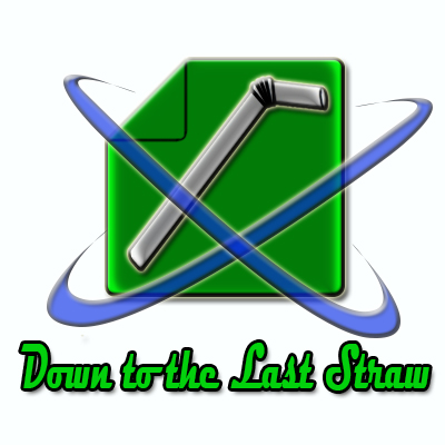 Logo Design by Private User - Entry No. 15 in the Logo Design Contest New Logo Design for DOWN TO THE LAST STRAW.