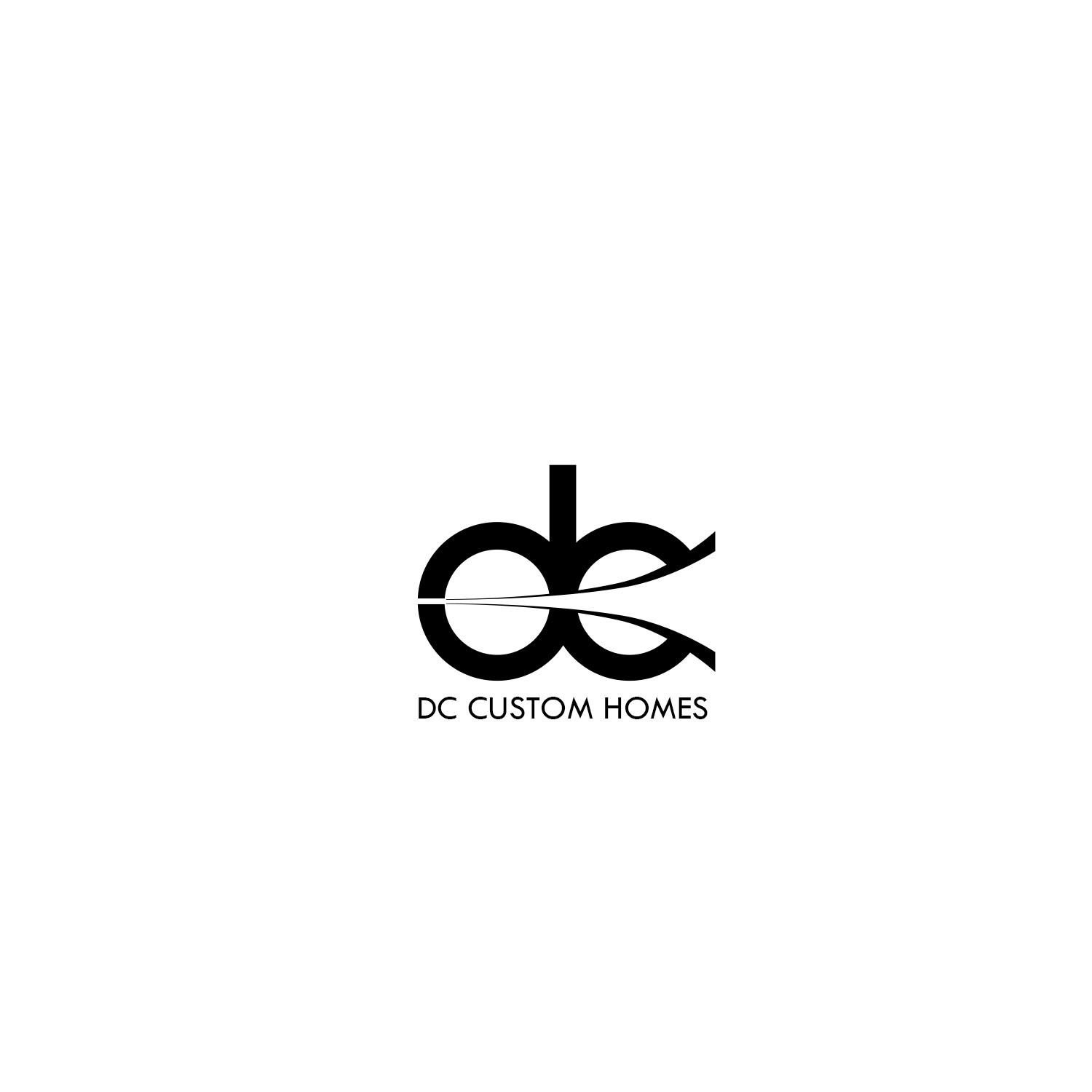 Logo Design by Private User - Entry No. 145 in the Logo Design Contest Creative Logo Design for DC Custom Homes.