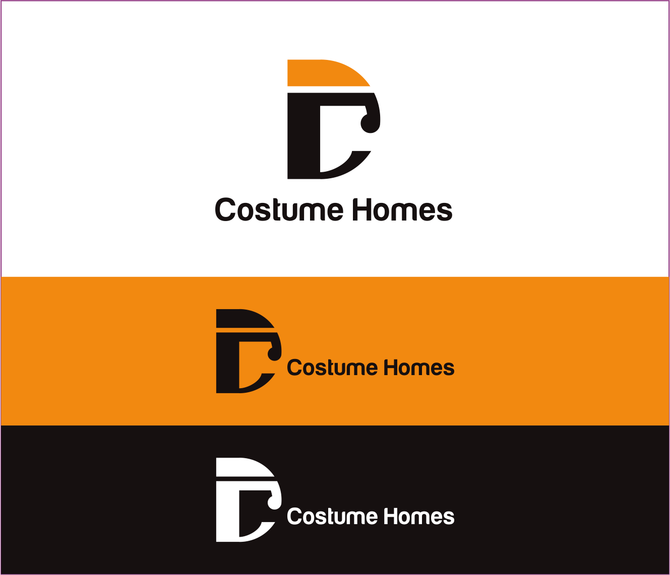 Logo Design by Armada Jamaluddin - Entry No. 146 in the Logo Design Contest Creative Logo Design for DC Custom Homes.