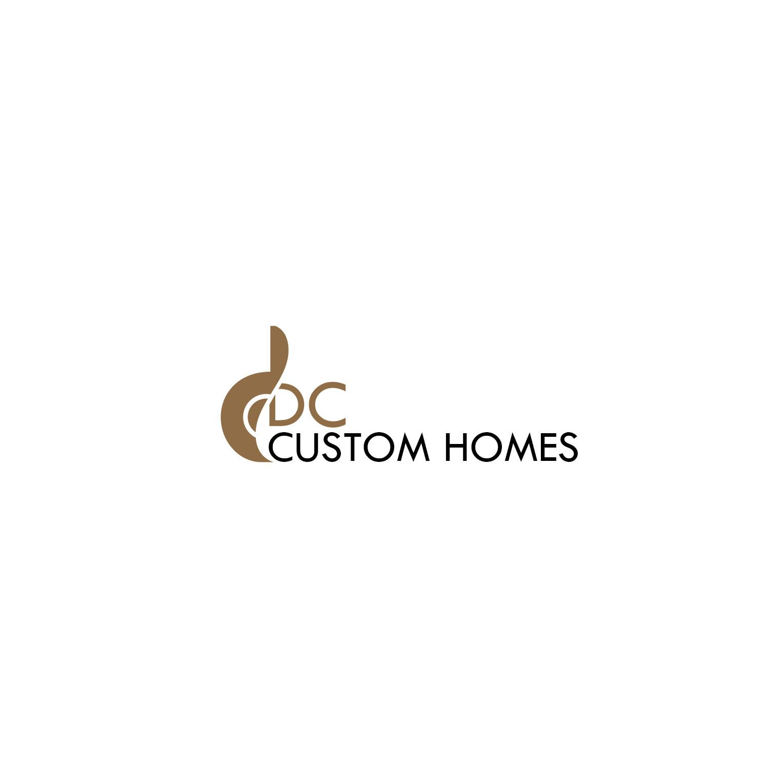 Logo Design by Private User - Entry No. 149 in the Logo Design Contest Creative Logo Design for DC Custom Homes.