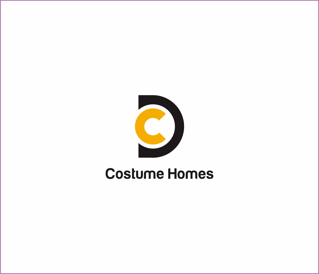 Logo Design by Armada Jamaluddin - Entry No. 150 in the Logo Design Contest Creative Logo Design for DC Custom Homes.