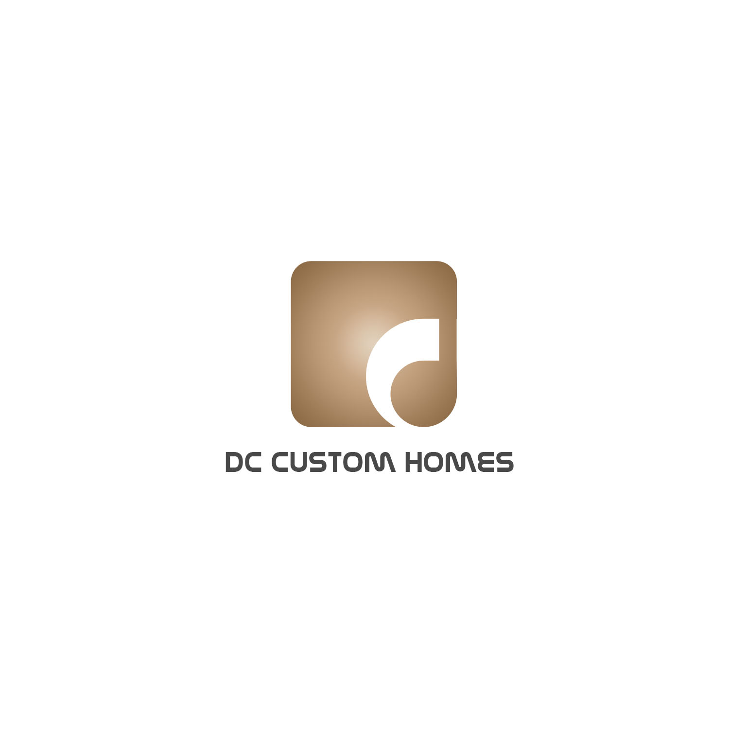 Logo Design by Private User - Entry No. 151 in the Logo Design Contest Creative Logo Design for DC Custom Homes.