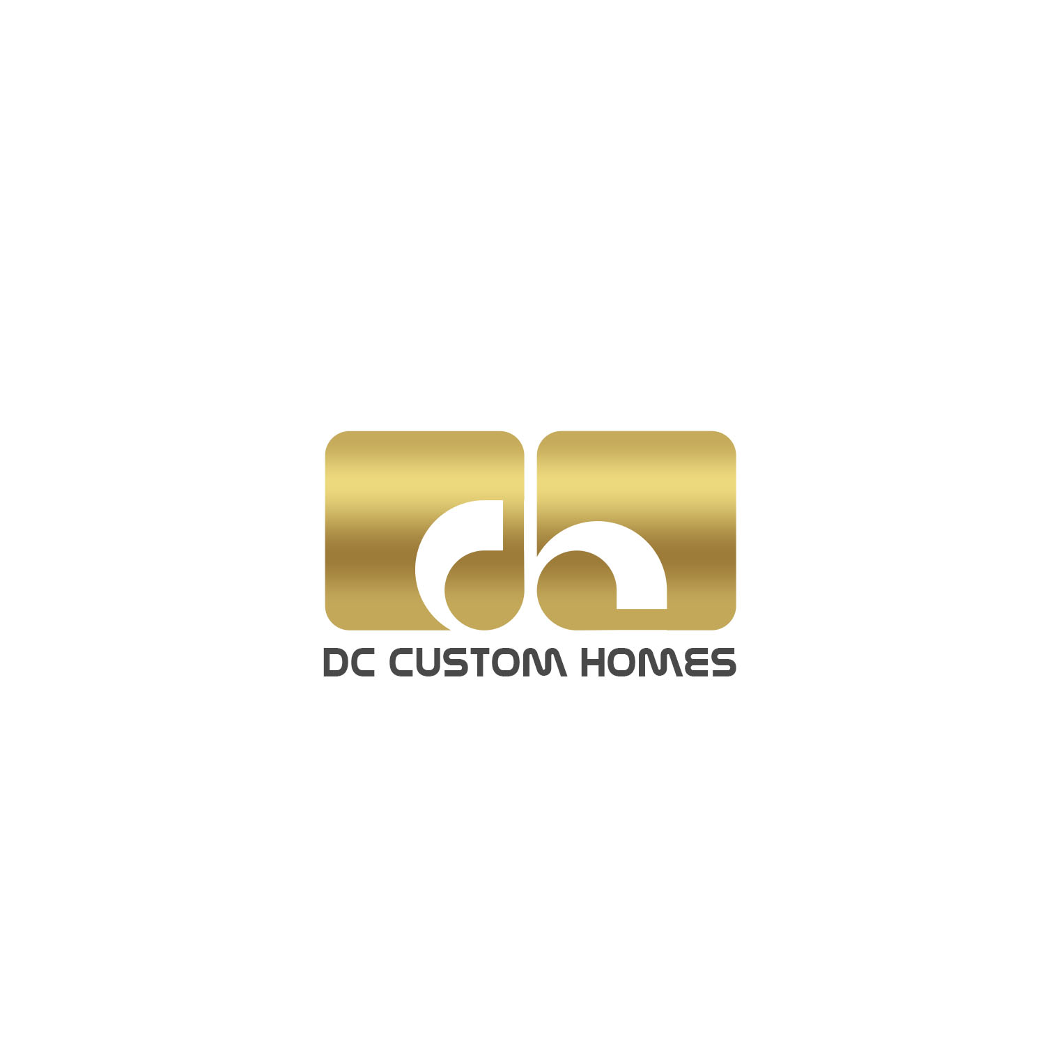Logo Design by Private User - Entry No. 152 in the Logo Design Contest Creative Logo Design for DC Custom Homes.