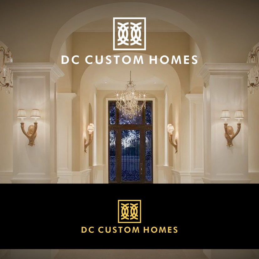 Logo Design by Private User - Entry No. 154 in the Logo Design Contest Creative Logo Design for DC Custom Homes.