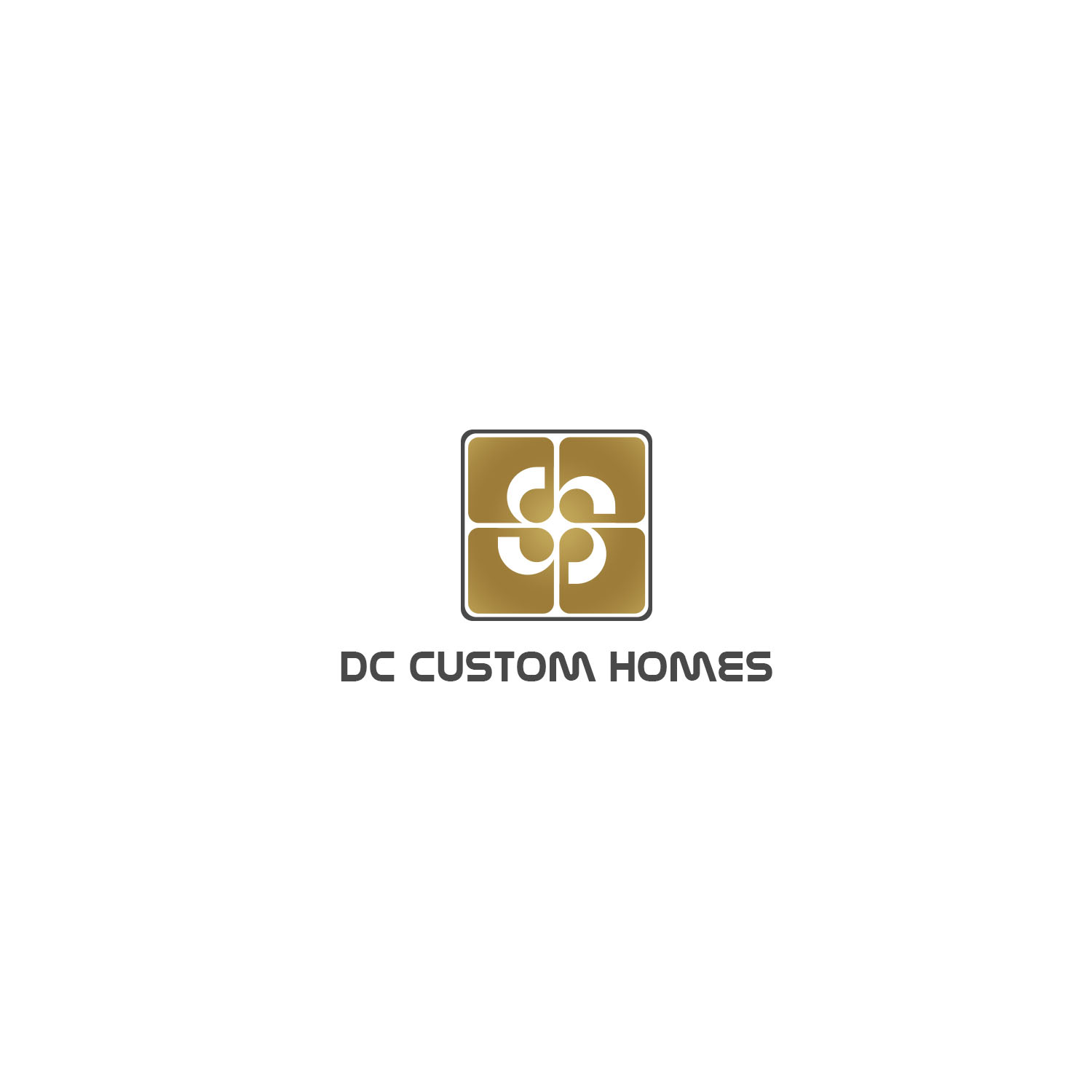 Logo Design by Private User - Entry No. 156 in the Logo Design Contest Creative Logo Design for DC Custom Homes.