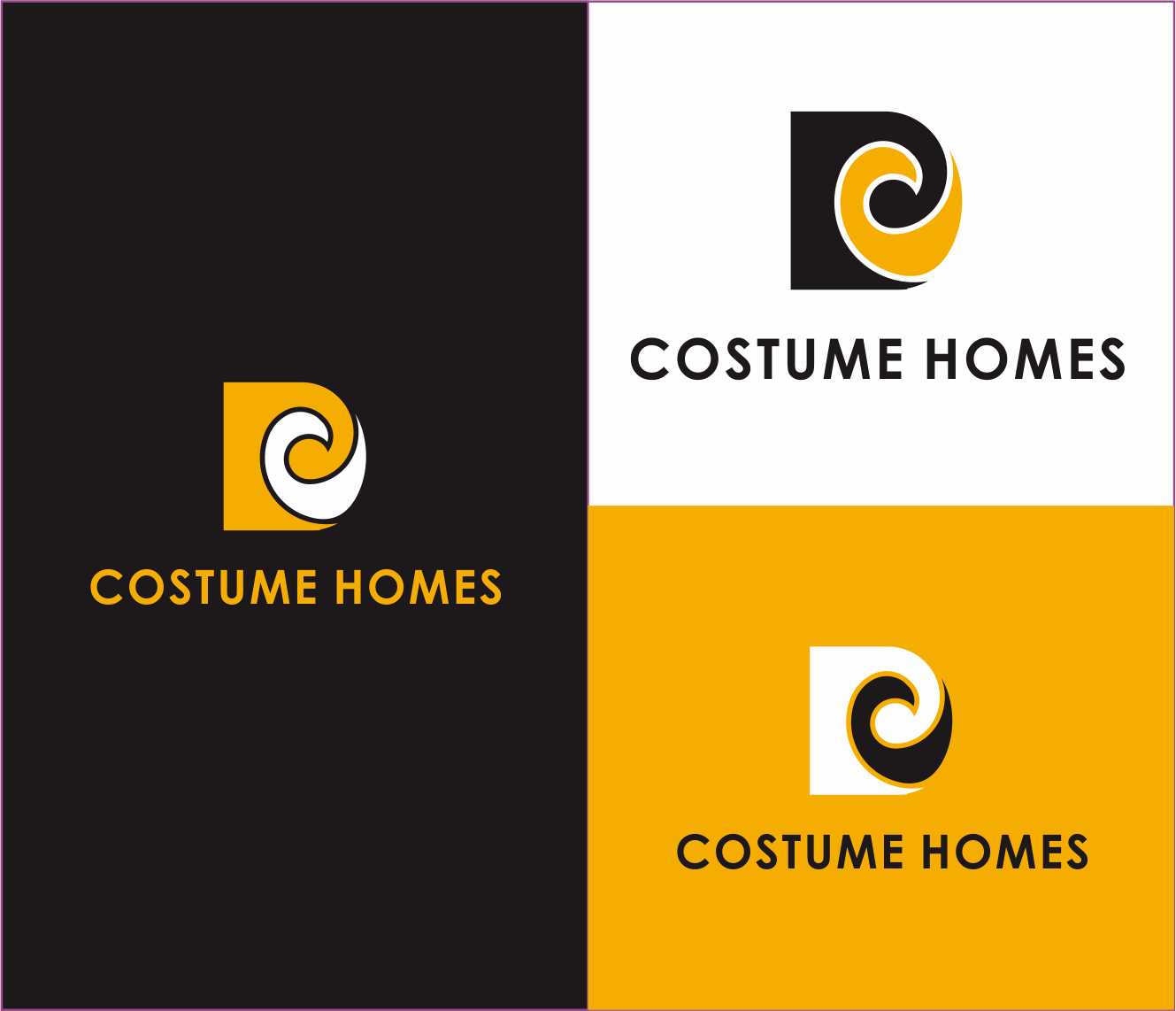 Logo Design by Armada Jamaluddin - Entry No. 157 in the Logo Design Contest Creative Logo Design for DC Custom Homes.
