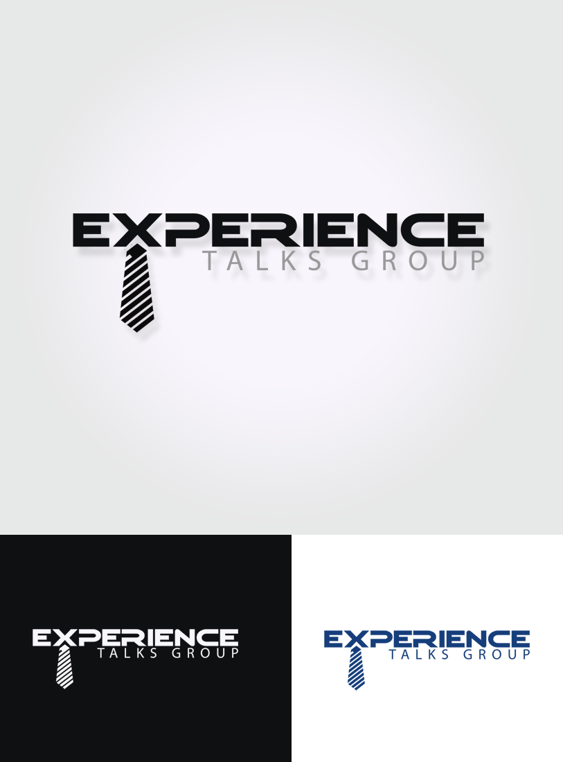 Logo Design by Private User - Entry No. 33 in the Logo Design Contest Captivating Logo Design for Experience Talks Group.