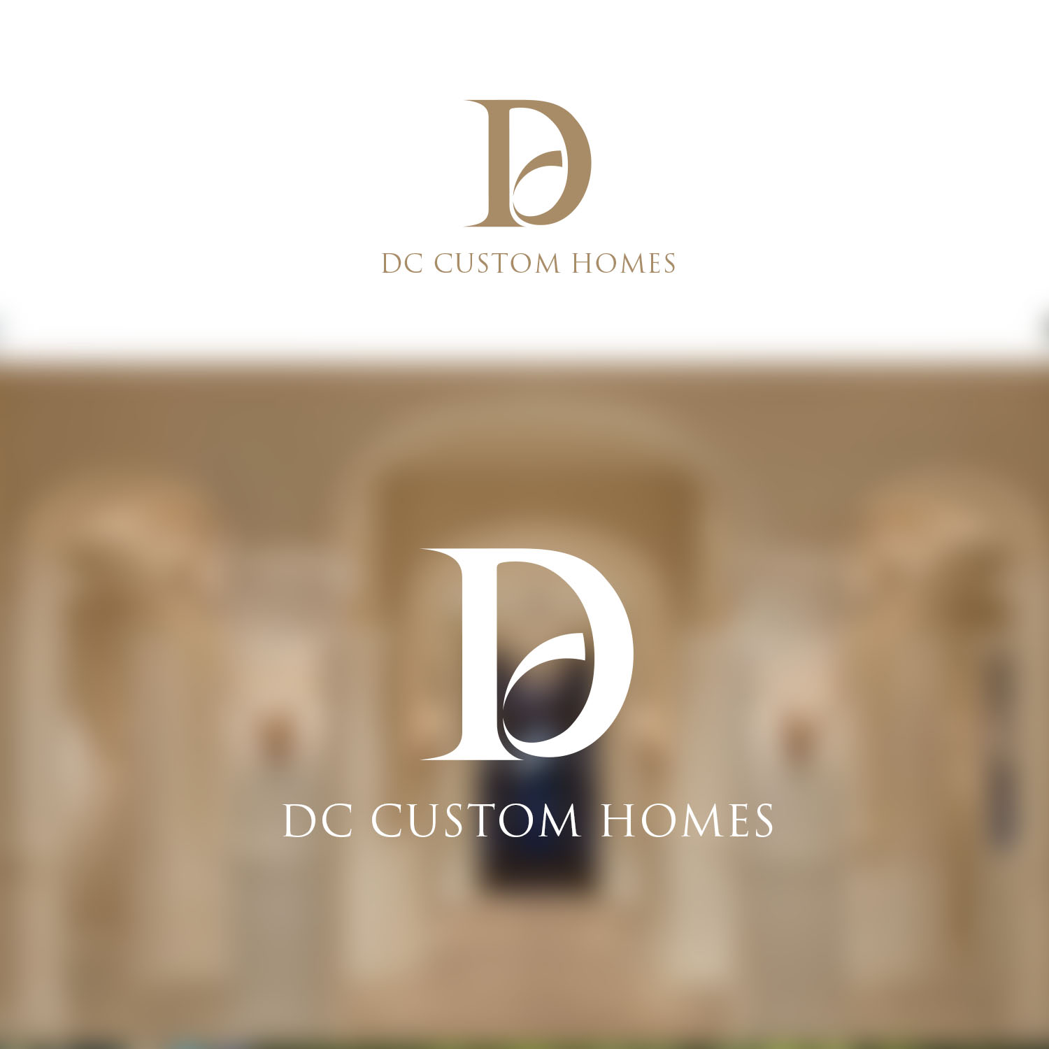 Logo Design by Private User - Entry No. 158 in the Logo Design Contest Creative Logo Design for DC Custom Homes.