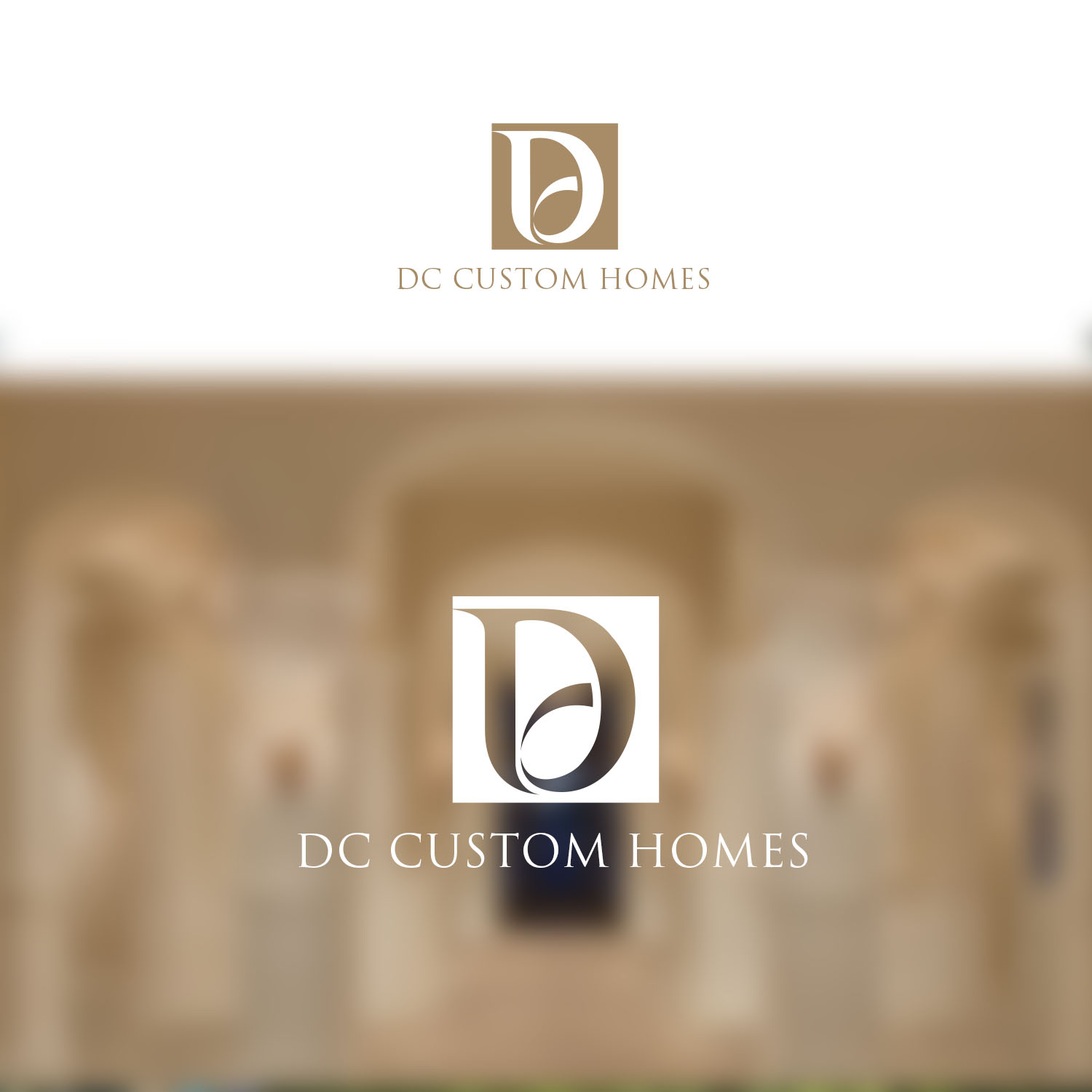 Logo Design by Private User - Entry No. 159 in the Logo Design Contest Creative Logo Design for DC Custom Homes.