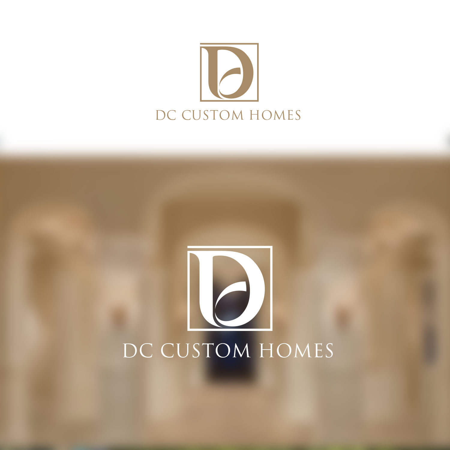 Logo Design by Private User - Entry No. 160 in the Logo Design Contest Creative Logo Design for DC Custom Homes.