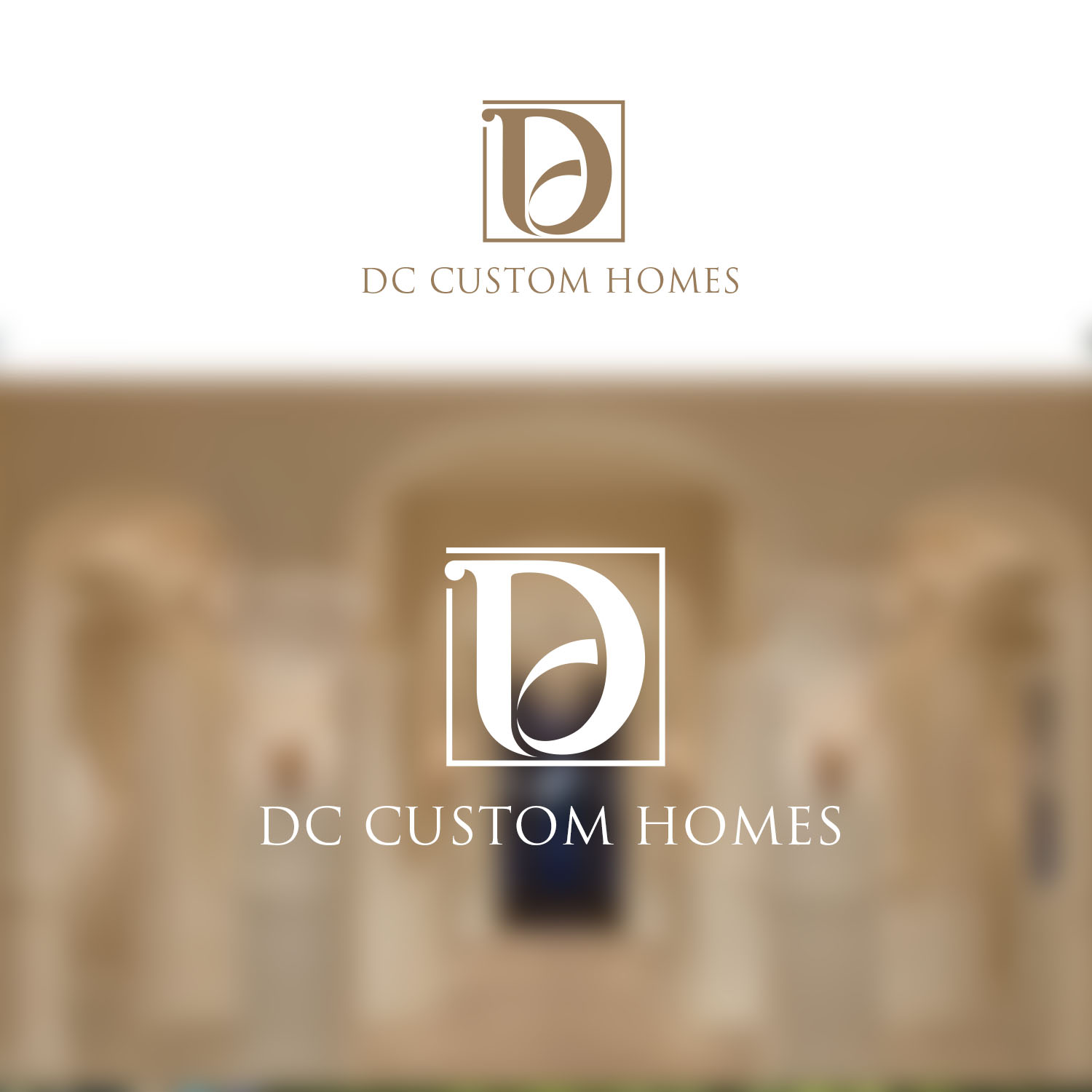 Logo Design by Private User - Entry No. 161 in the Logo Design Contest Creative Logo Design for DC Custom Homes.