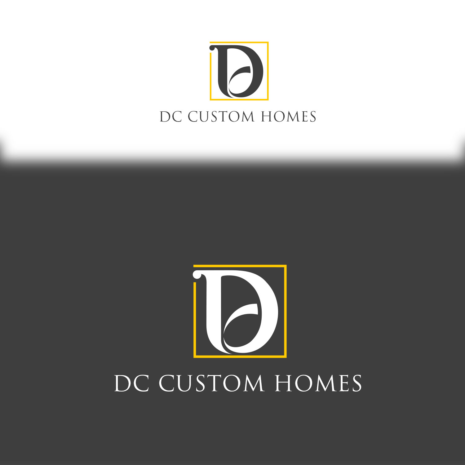 Logo Design by Private User - Entry No. 162 in the Logo Design Contest Creative Logo Design for DC Custom Homes.