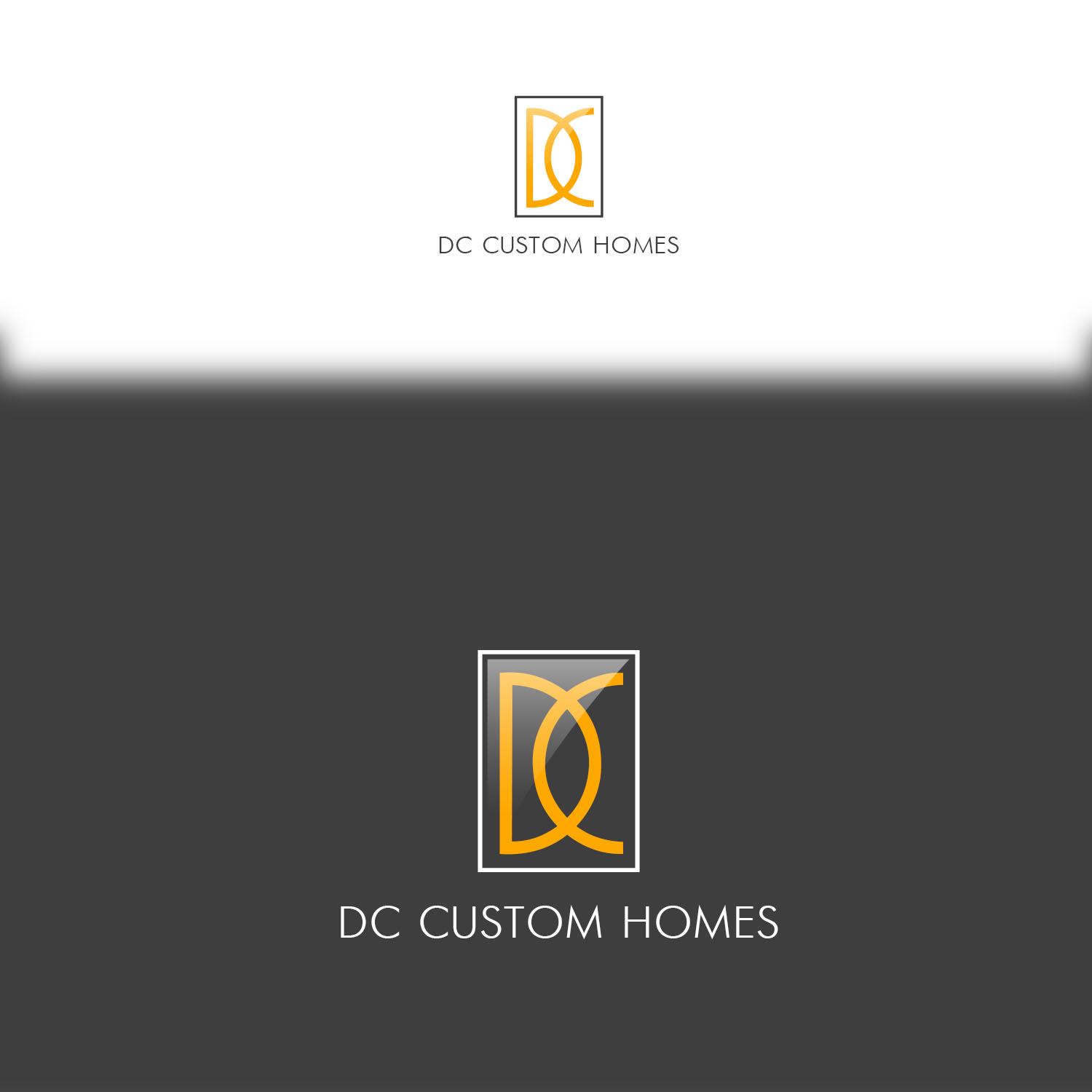 Logo Design by Private User - Entry No. 163 in the Logo Design Contest Creative Logo Design for DC Custom Homes.