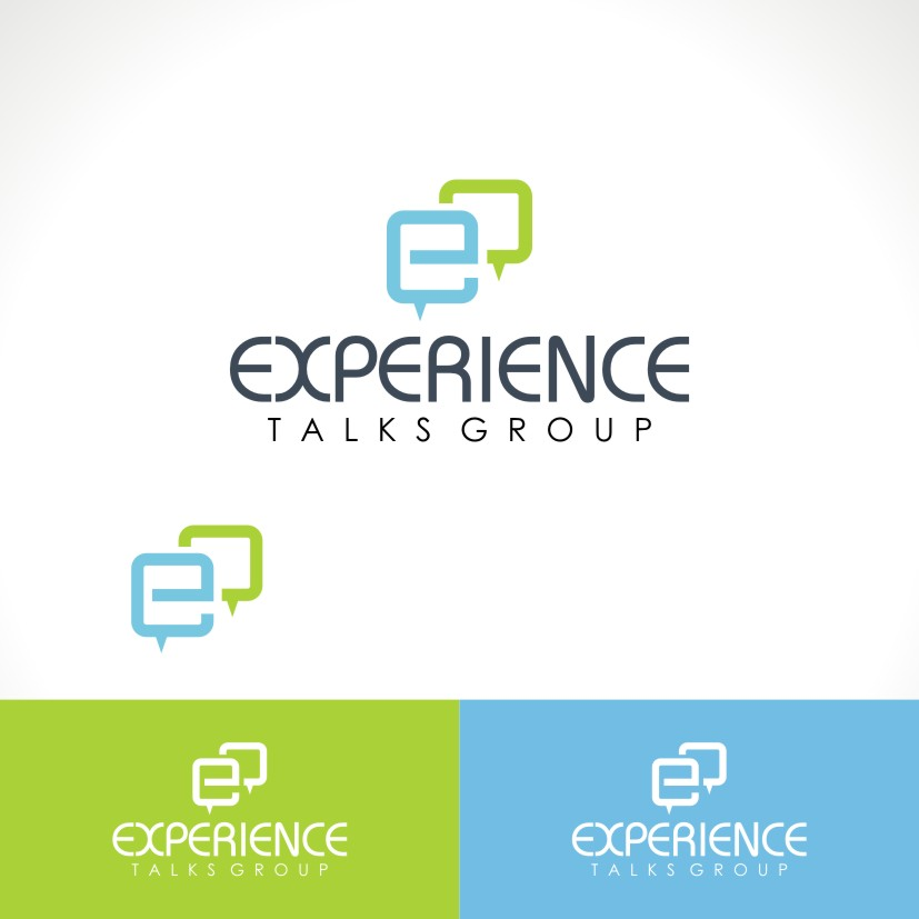 Logo Design by Private User - Entry No. 34 in the Logo Design Contest Captivating Logo Design for Experience Talks Group.