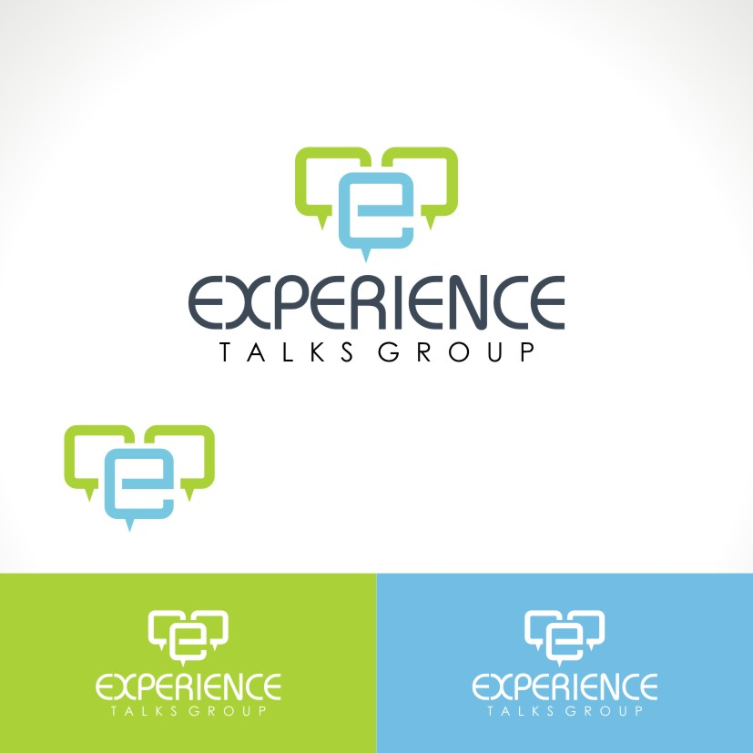 Logo Design by Private User - Entry No. 35 in the Logo Design Contest Captivating Logo Design for Experience Talks Group.