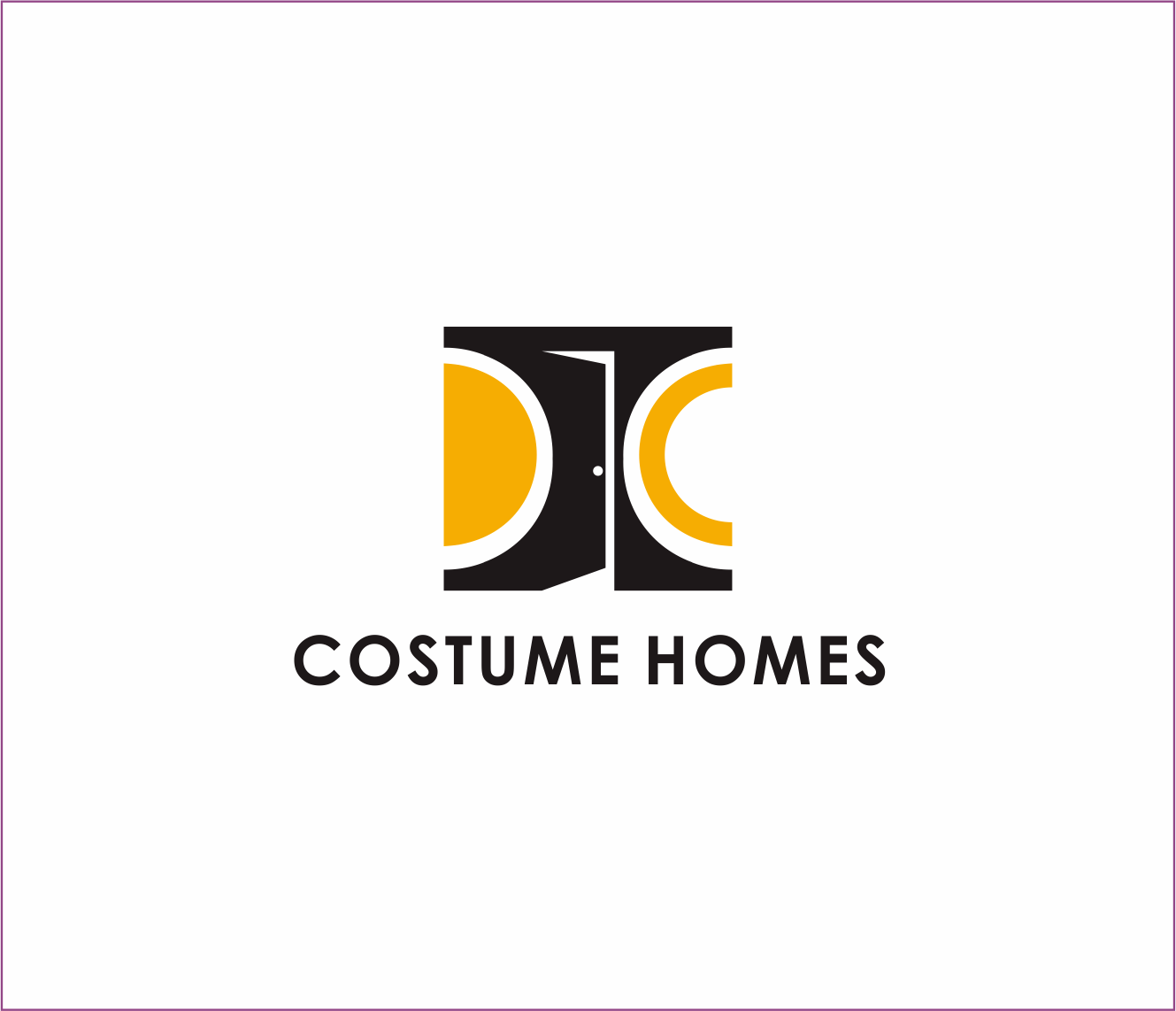 Logo Design by Armada Jamaluddin - Entry No. 166 in the Logo Design Contest Creative Logo Design for DC Custom Homes.