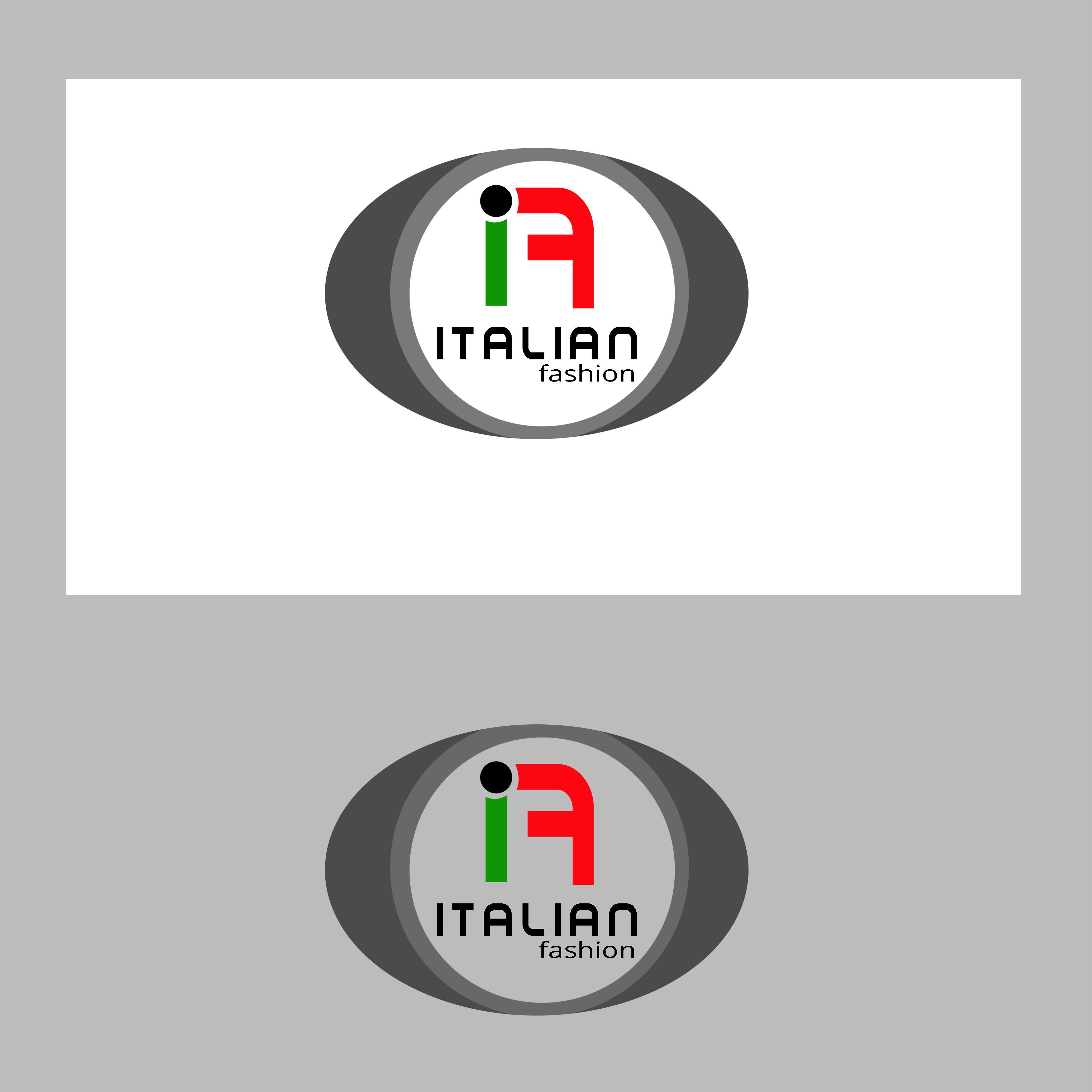 Logo Design by Allan Esclamado - Entry No. 96 in the Logo Design Contest Logo for Web Page ItalianFashion.cz.