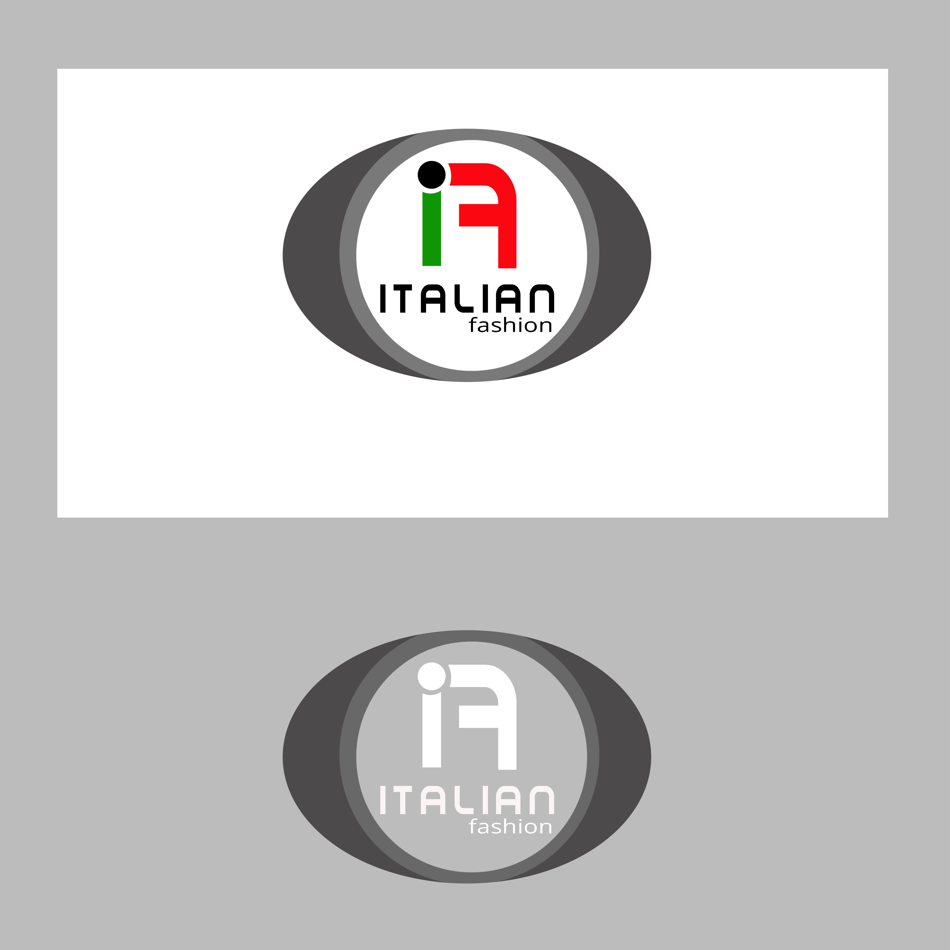 Logo Design by Allan Esclamado - Entry No. 97 in the Logo Design Contest Logo for Web Page ItalianFashion.cz.