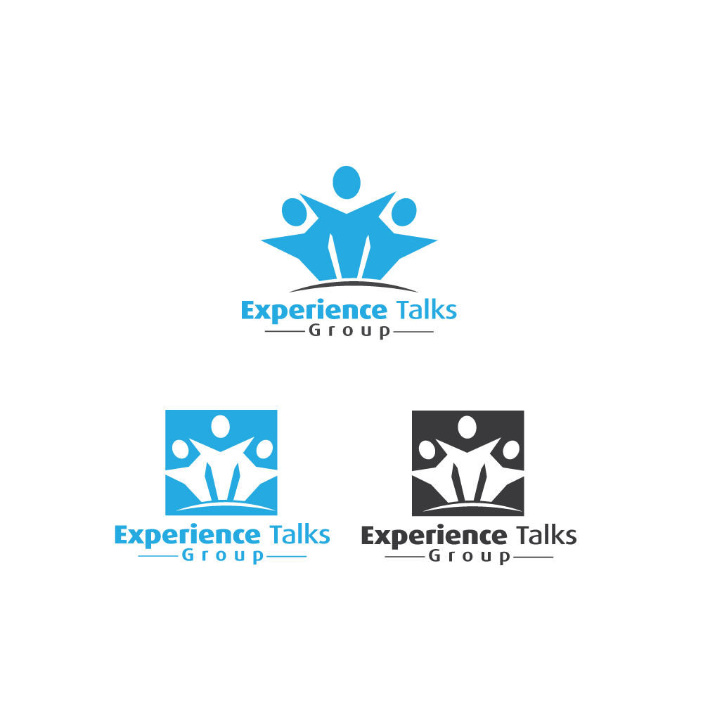 Logo Design by danelav - Entry No. 49 in the Logo Design Contest Captivating Logo Design for Experience Talks Group.