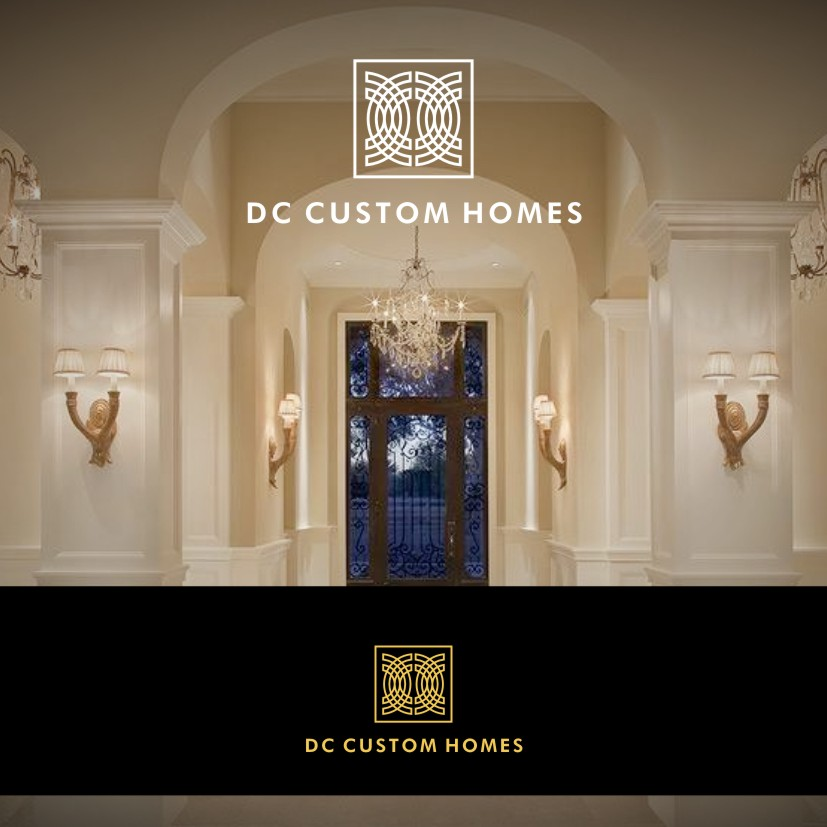 Logo Design by Private User - Entry No. 171 in the Logo Design Contest Creative Logo Design for DC Custom Homes.