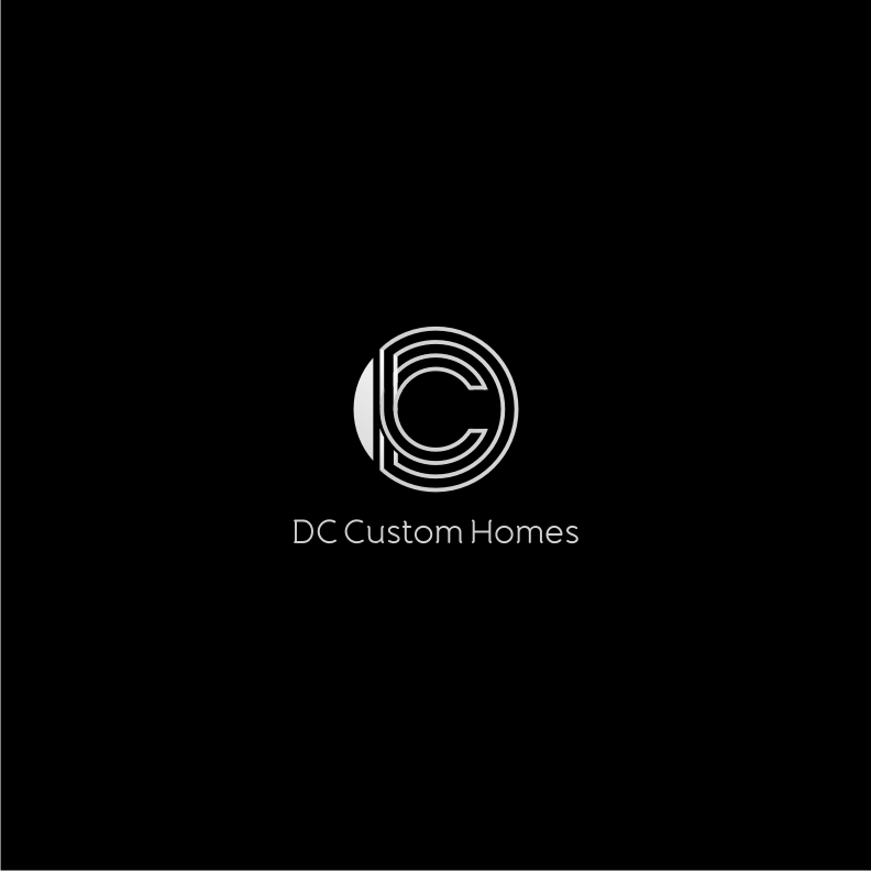 Logo Design by graphicleaf - Entry No. 172 in the Logo Design Contest Creative Logo Design for DC Custom Homes.