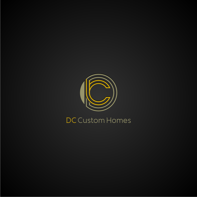 Logo Design by graphicleaf - Entry No. 173 in the Logo Design Contest Creative Logo Design for DC Custom Homes.