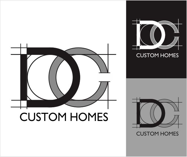 Logo Design by ronny - Entry No. 175 in the Logo Design Contest Creative Logo Design for DC Custom Homes.