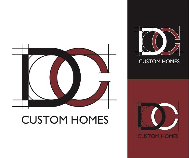 Logo Design by ronny - Entry No. 176 in the Logo Design Contest Creative Logo Design for DC Custom Homes.
