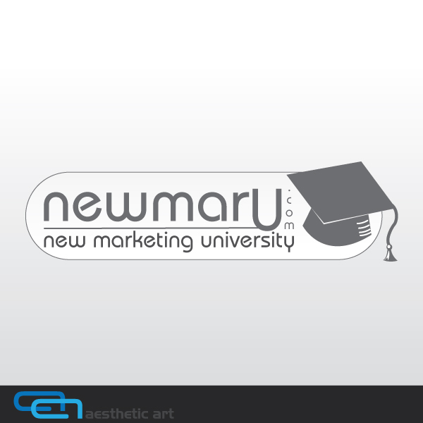 Logo Design by aesthetic-art - Entry No. 52 in the Logo Design Contest NewMarU.com (New Marketing University).