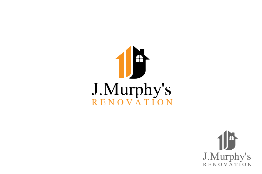 Logo Design by brands_in - Entry No. 3 in the Logo Design Contest J. Murphy's Renovations Logo Design.