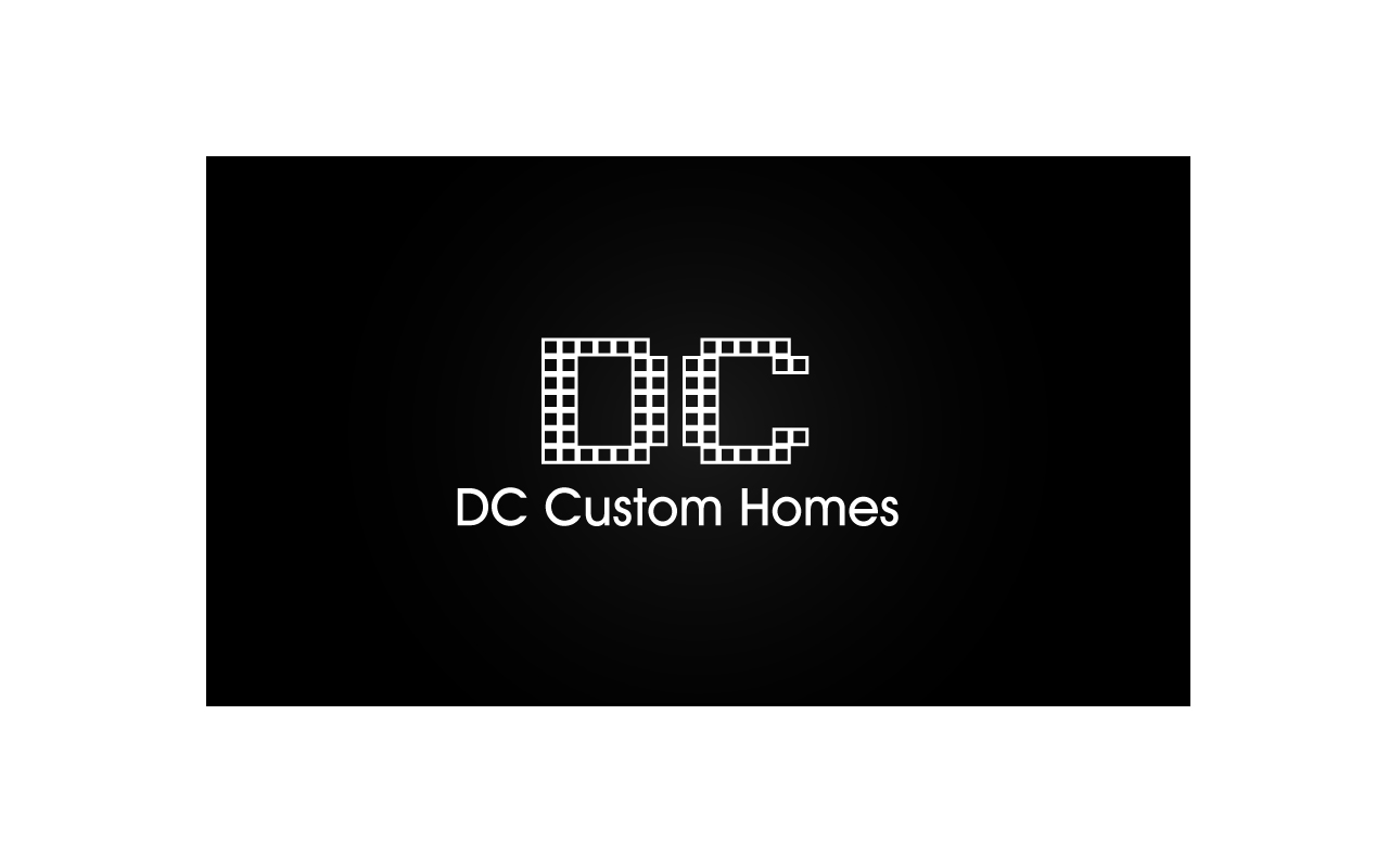 Logo Design by Jagdeep Singh - Entry No. 181 in the Logo Design Contest Creative Logo Design for DC Custom Homes.