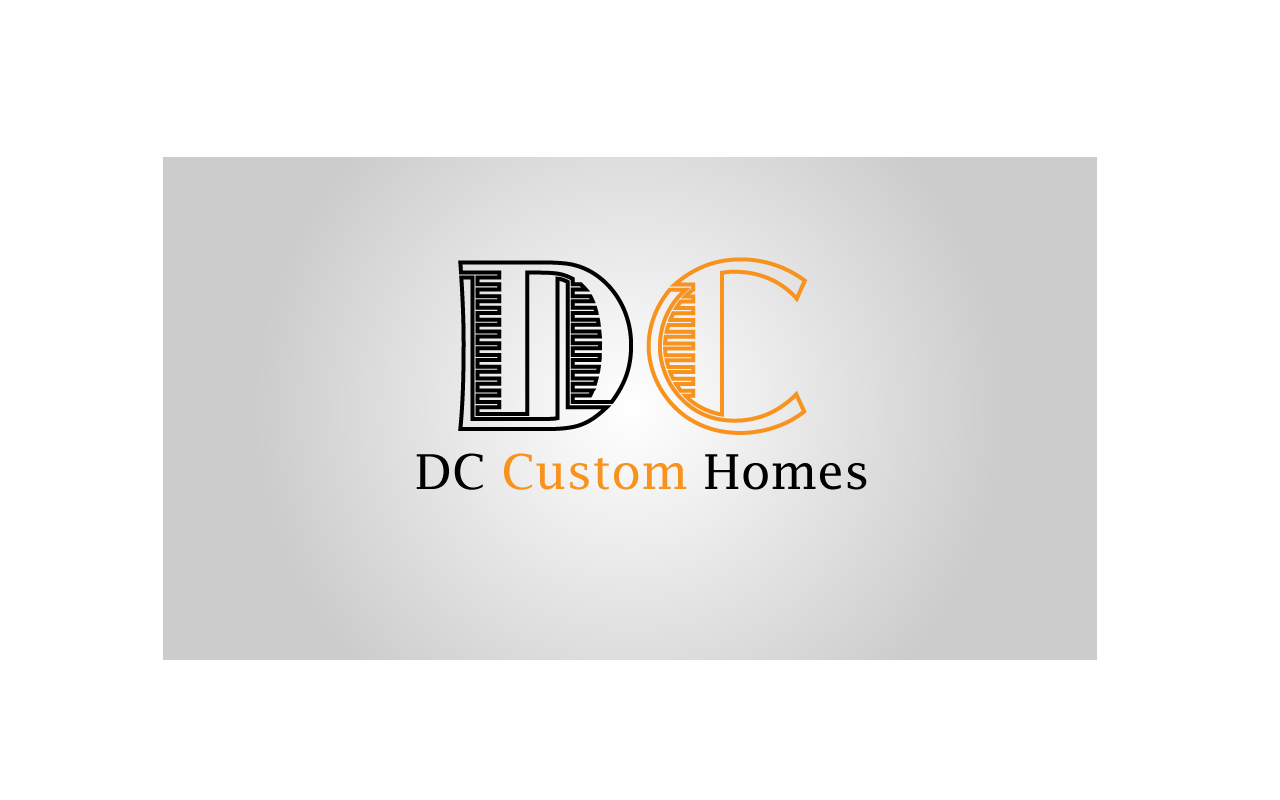 Logo Design by Jagdeep Singh - Entry No. 183 in the Logo Design Contest Creative Logo Design for DC Custom Homes.