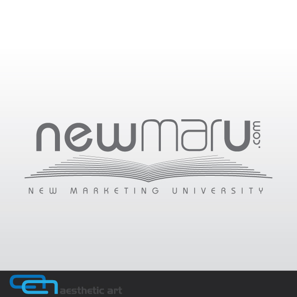 Logo Design by aesthetic-art - Entry No. 54 in the Logo Design Contest NewMarU.com (New Marketing University).