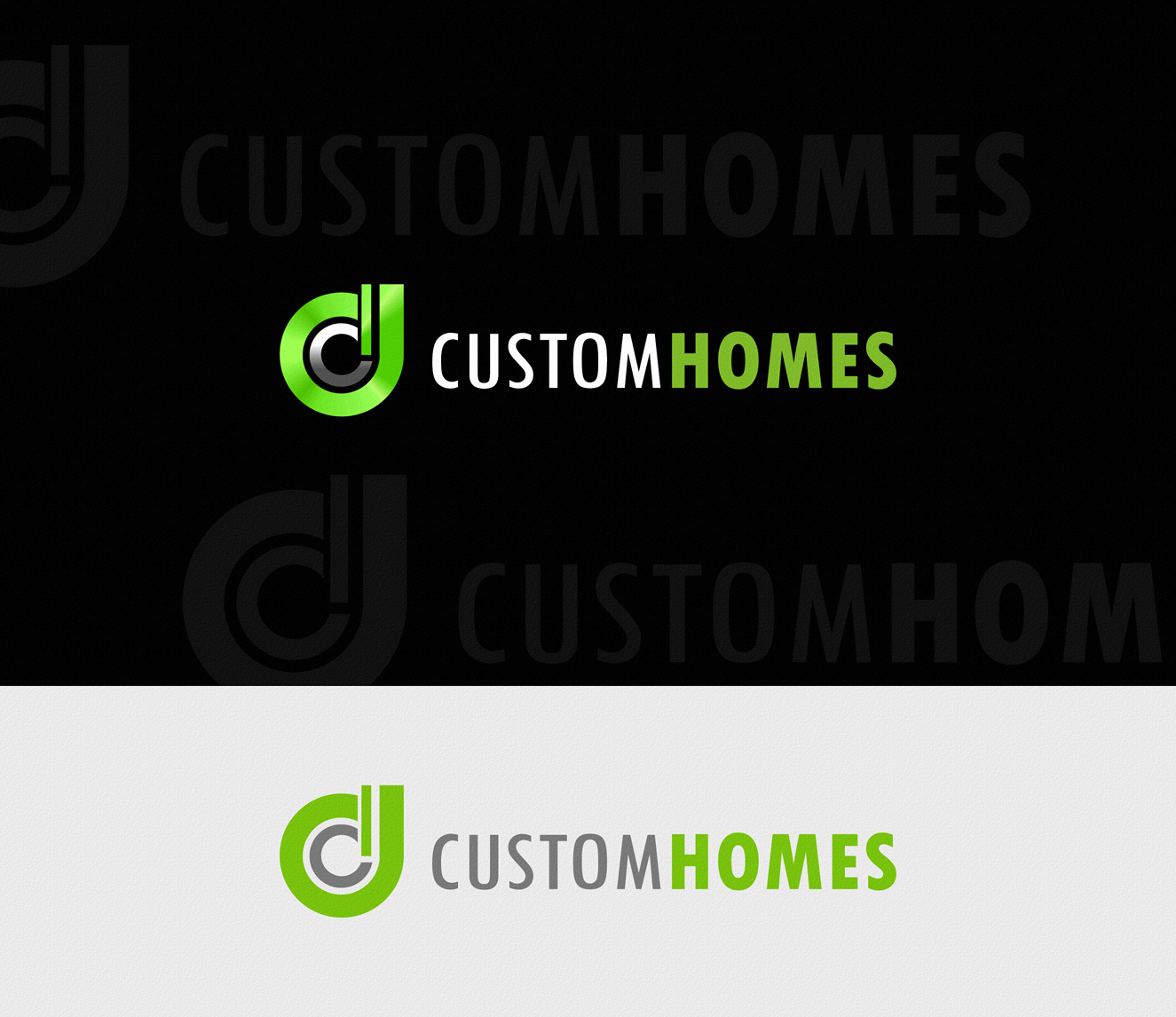 Logo Design by Private User - Entry No. 188 in the Logo Design Contest Creative Logo Design for DC Custom Homes.