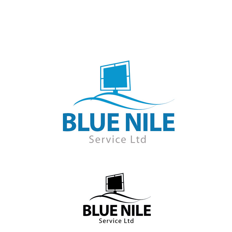 Logo Design by Private User - Entry No. 10 in the Logo Design Contest Imaginative Logo Design for Blue Nile Service Ltd.