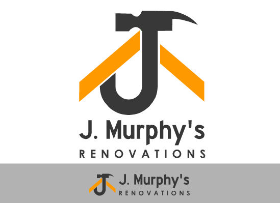 Logo Design by Ismail Adhi Wibowo - Entry No. 4 in the Logo Design Contest J. Murphy's Renovations Logo Design.