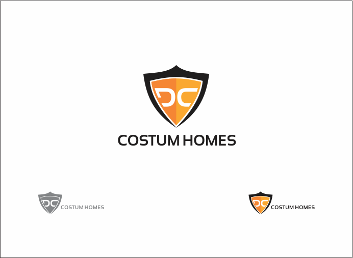 Logo Design by Armada Jamaluddin - Entry No. 191 in the Logo Design Contest Creative Logo Design for DC Custom Homes.