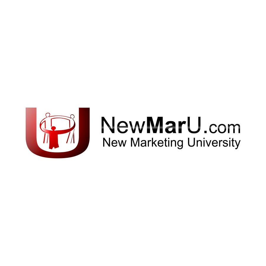 Logo Design by R1CK_ART - Entry No. 57 in the Logo Design Contest NewMarU.com (New Marketing University).