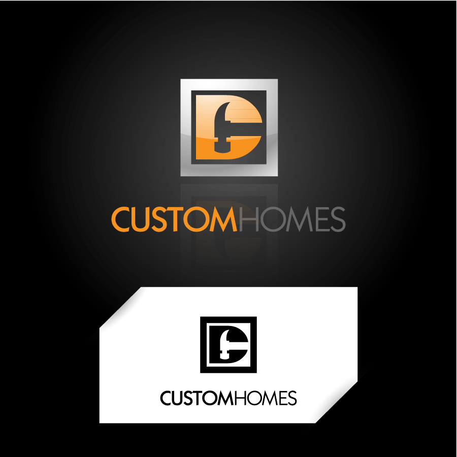 Logo Design by Crismar Cabinian - Entry No. 192 in the Logo Design Contest Creative Logo Design for DC Custom Homes.