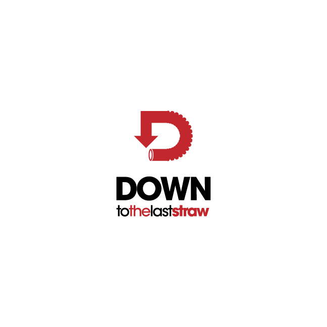 Logo Design by chinie05 - Entry No. 19 in the Logo Design Contest New Logo Design for DOWN TO THE LAST STRAW.