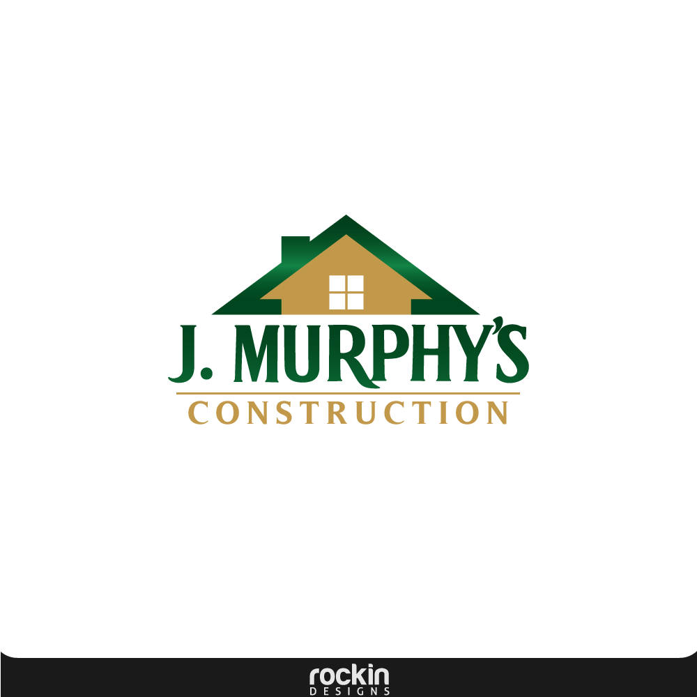 Logo Design by rockin - Entry No. 12 in the Logo Design Contest J. Murphy's Renovations Logo Design.